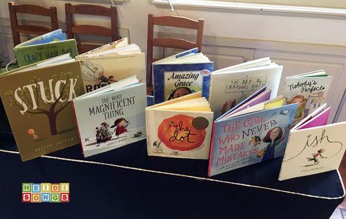 Growth Mindset Books - HeidiSongs