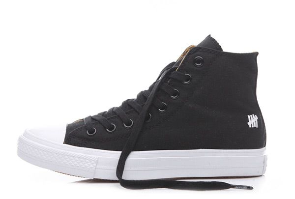 Converse Undefeated Leopard Lining Black Chuck Taylor All Star High #converse #shoes