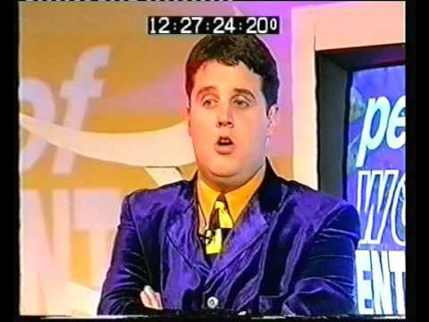 Peter Kay - 1st appearance on The Sunday Show - YouTube
