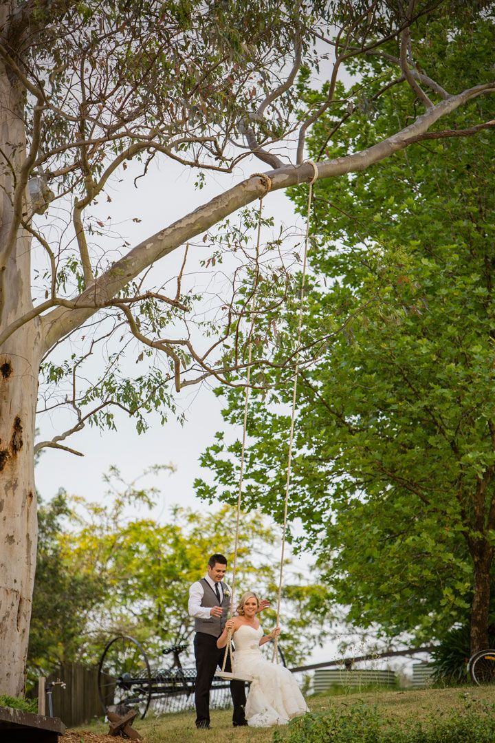 The Love Swing | Fernbank Farm | Central Coast Wedding & Event Venue