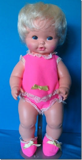 Baby Tender Love - another doll my sister had (I'd outgrown dolls by then)