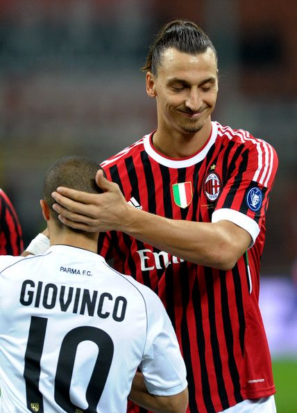 Sebastian Giovinco and Zlatan Ibrahimovic