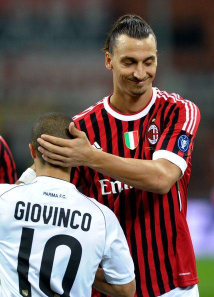 Sebastian Giovinco and Zlatan Ibrahimovic