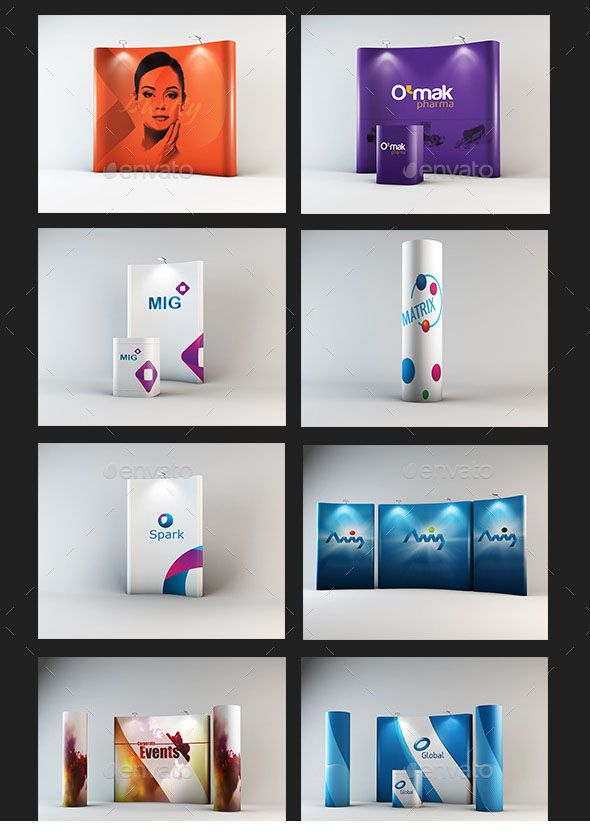 Free Trade Show Booth Mock-up in PSD | Free PSD Templates | Booths