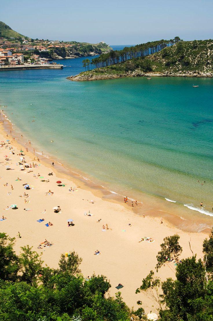 Lekeitio (Biskaya) Basque Countr. 19 of the best beaches in Europe: http://www.europealacarte.co.uk/blog/2011/03/28/best-beaches-europ/