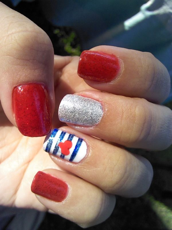 25+ Best American Nails Ideas On Pinterest
