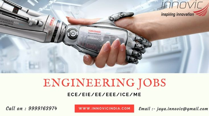 Innovic India Pvt. Ltd is a company offers you best job in various core industry for fresher Engineers in Delhi. Here, you get Mechanical engineering jobs, Electrical engineering jobs, Electronics engineering jobs.
