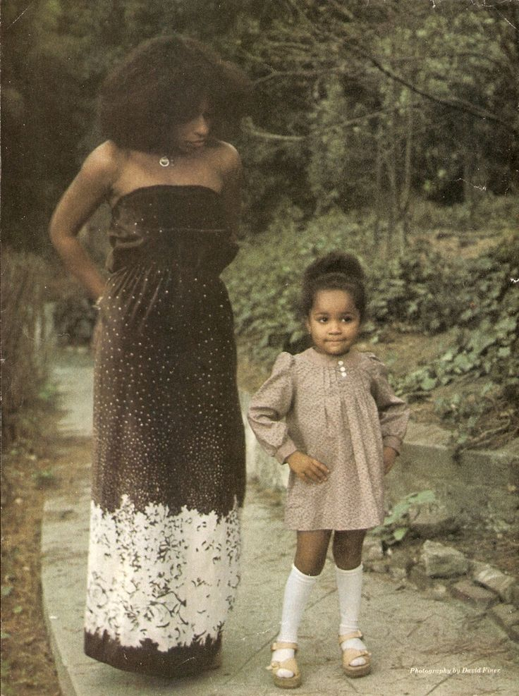 Chaka Khan and daughter