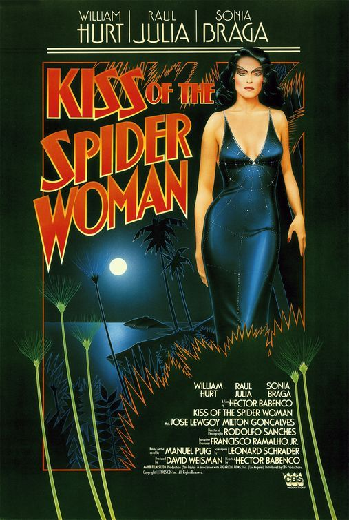 O BEIJO DA MULHER ARANHA (poster americano): Woman Posters, Movie Posters, Kiss, Spiders Women, Woman, Posters 1980S, Spiders Woman, Film Posters, Woman 1985