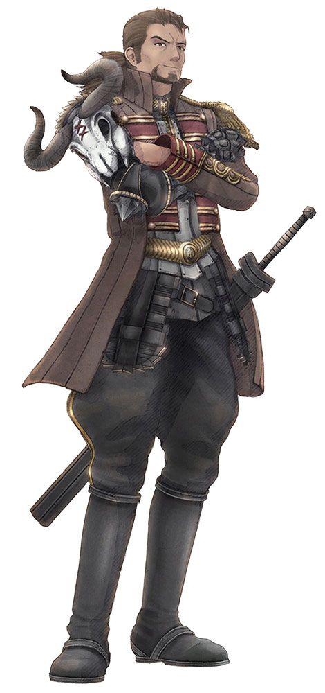 Radi Jaeger from Valkyria Chronicles