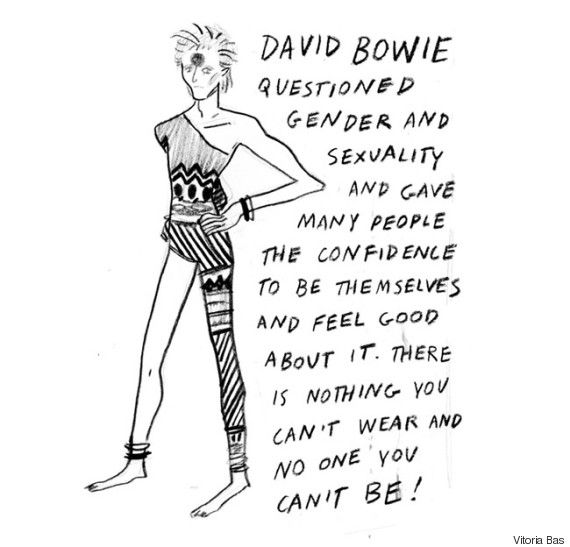 An Illustrated History of David Bowie's Profound Influence
