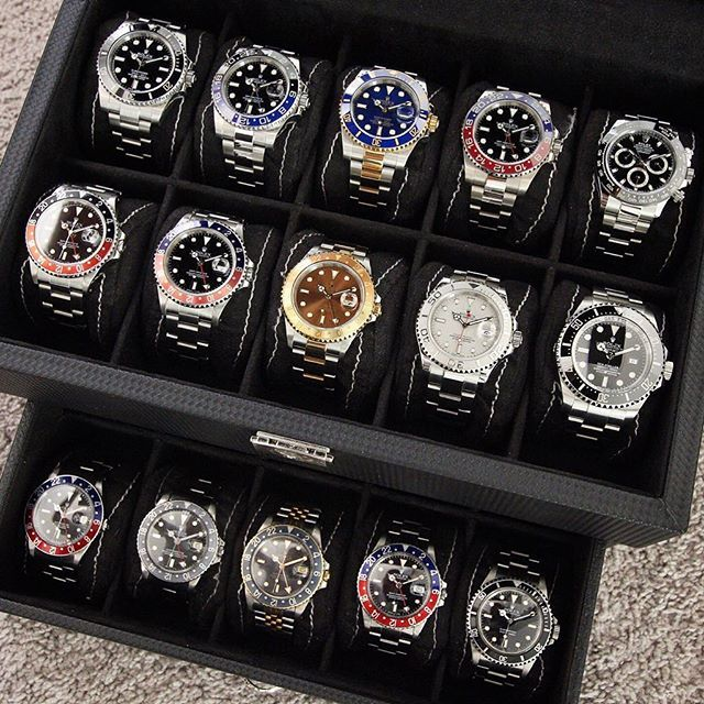 Rolex family @rolexdiver | http://ift.tt/2cBdL3X shares Rolex Watches collection #Get #men #rolex #watches #fashion