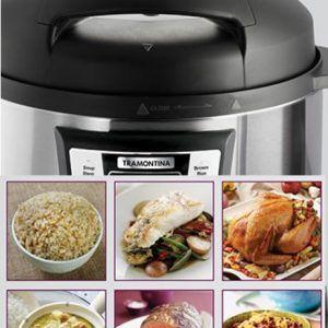 Tramontina Electric Pressure Cooker Recipe Booklet