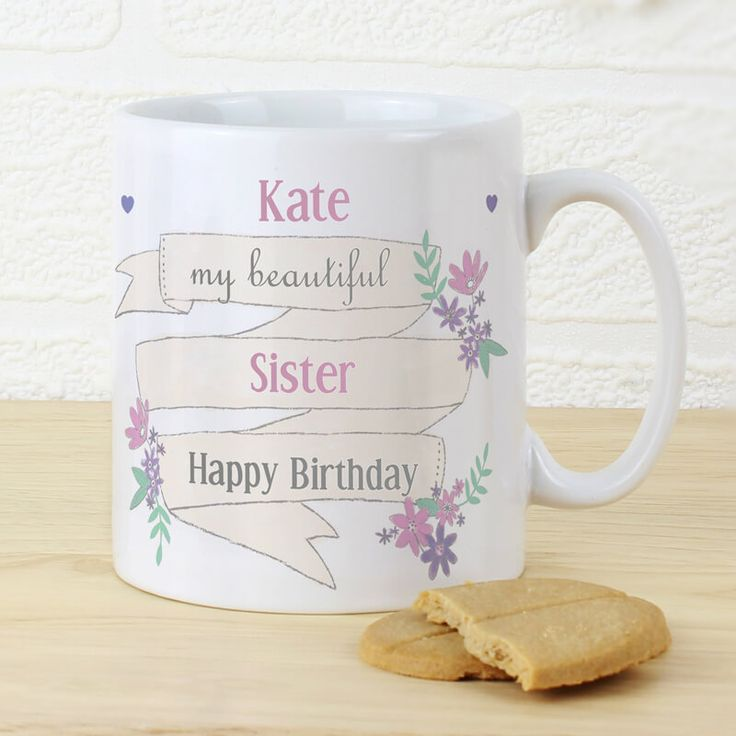 Personalised Garden Bloom Mug You can personalise the front of this latte mug with 4 lines of text up to 15 characters per line. Lines 1, 3 and 4 are case sensitive and will appear as entered. Line 2, due to the font type used, pl http://www.MightGet.com/january-2017-13/personalised-garden-bloom-mug.asp