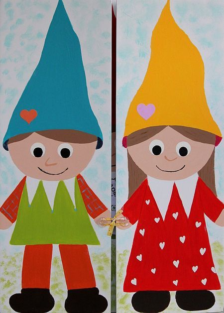 gnomes... has links to Gnomeo & Juliet downloads and activities!