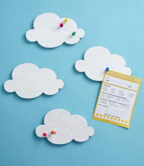 Mini Cloud Cork Boards