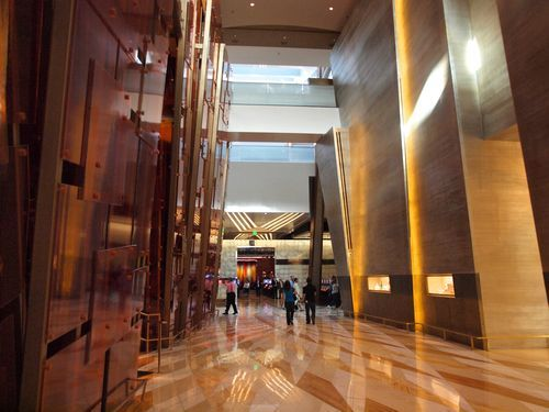 Aria Hotel And Casino Interior Vegas Then And Now Pinterest Resorts Travel And Interiors