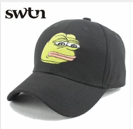 """ Sad Frog "" Patter Men's Fashion  Baseball Cap Snapback New Brand Adjustable #SWTN #Casual"