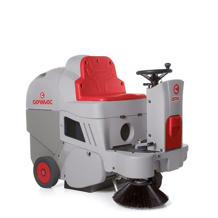 Comac Sweeper CS 700 H - Jual Mesin Penyapu Lantai Keramik, Marmer Merk Terbaik Bagus dg Harga Murah.  Comac CS700 sweeping machines are suitable for cleaning commercial surfaces up to 10,000 sq.m.  Harga per Unit.  http://alatcleaning123.com/sweeper/1576-comac-sweeper-cs-700-h-jual-mesin-penyapu-lantai-keramik-marmer-merk-terbaik-bagus-dg-harga-murah.html  #comacsweeper #mesinpenyapulantai #alatcleaning
