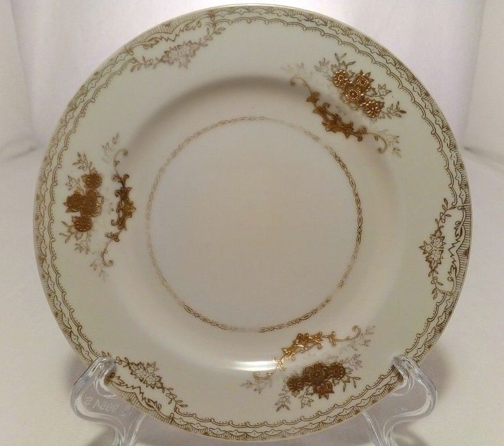 Hand painted Fine Bone China Meito Japan Gold Decorative Saucer