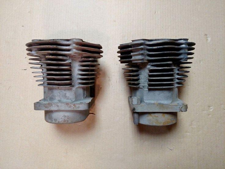 #harley Harley Davidson OEM Knucklehead Cylinders for Repair please retweet