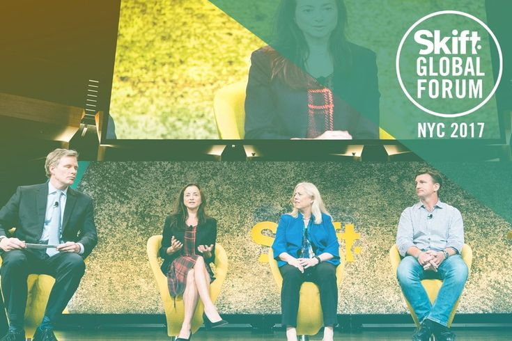 Video: Travel Investors on Why Booking Sites Still Have Plenty of Room For Growth  From left Mark Mahaney managing director and analyst at RBC Capital Markets Research Division; Natasha Kuhlkin managing director and portfolio manager at Dennison Associates; Bonny Simi president ofJetBlue Technology Ventures and Erik Blachford venture partner at TCV spoke on stage about climate change at Skift Global Forum in New York in September. Skift  Skift Take: Is this only the beginning of the…