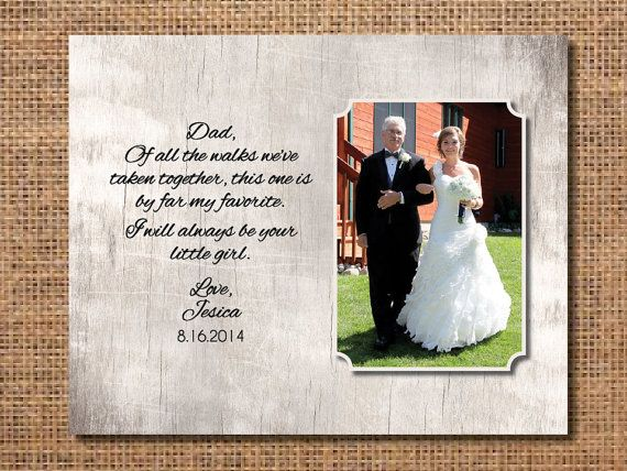 Father of the Bride Gift, Gift for Dad from Bride, Parents Wedding Present, Thank You Gift for Parents, Digital File on Etsy, $10.00