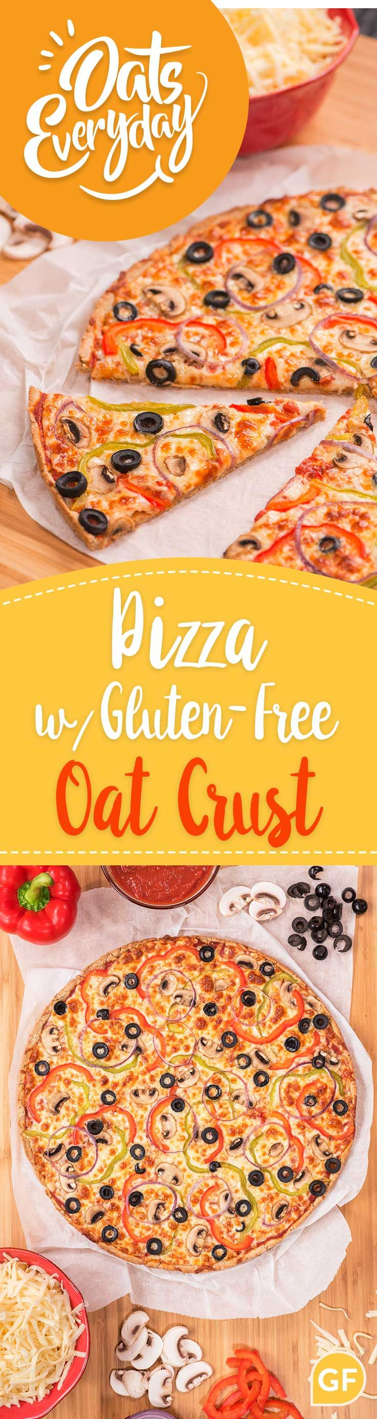 An easy, gluten-free dough made with oat flour.