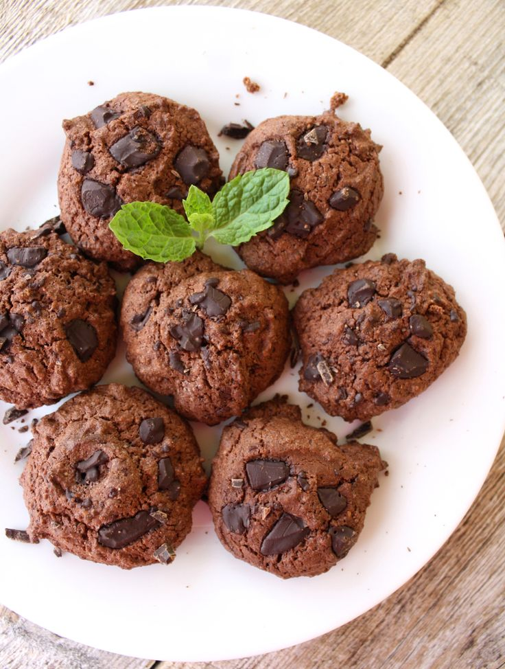 Double chocolate chip cookies - lindastuhaug