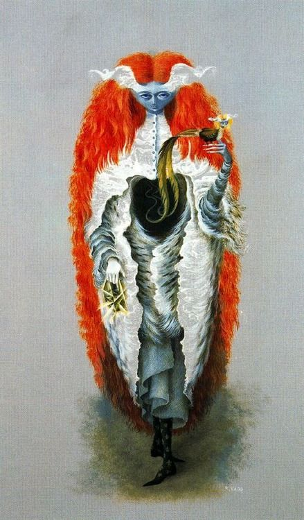 Remedios Varo Witch Going To The Sabbath