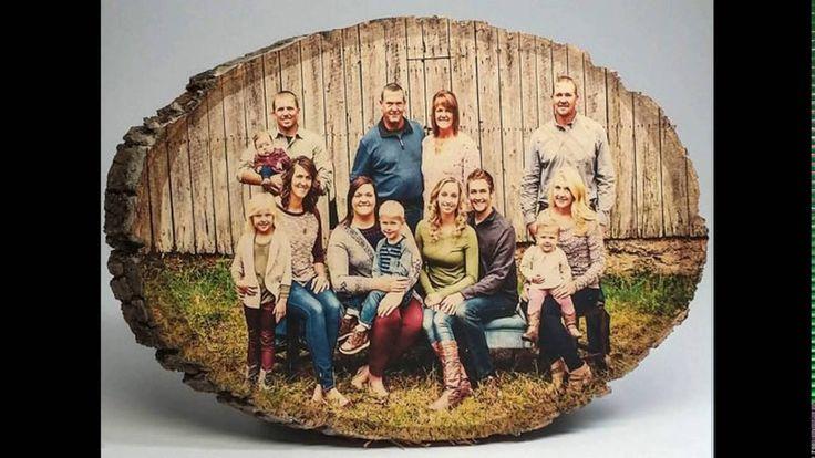 Перенос фото на дерево