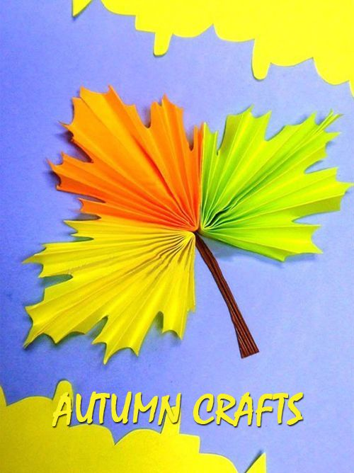 Autumn crafts for preschoolers | GOOD HOUSE WIFE