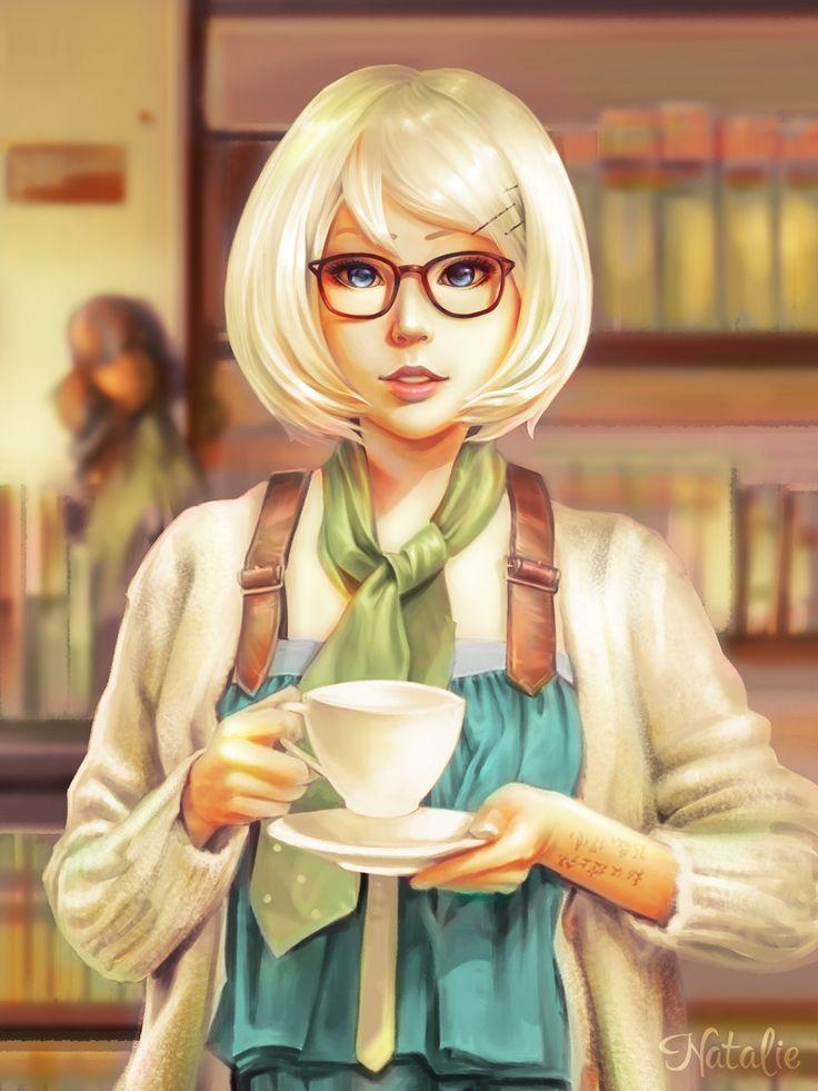 Tea Time 02, Natalie Evdokimova on ArtStation at https://www.artstation.com/artwork/P2zDL