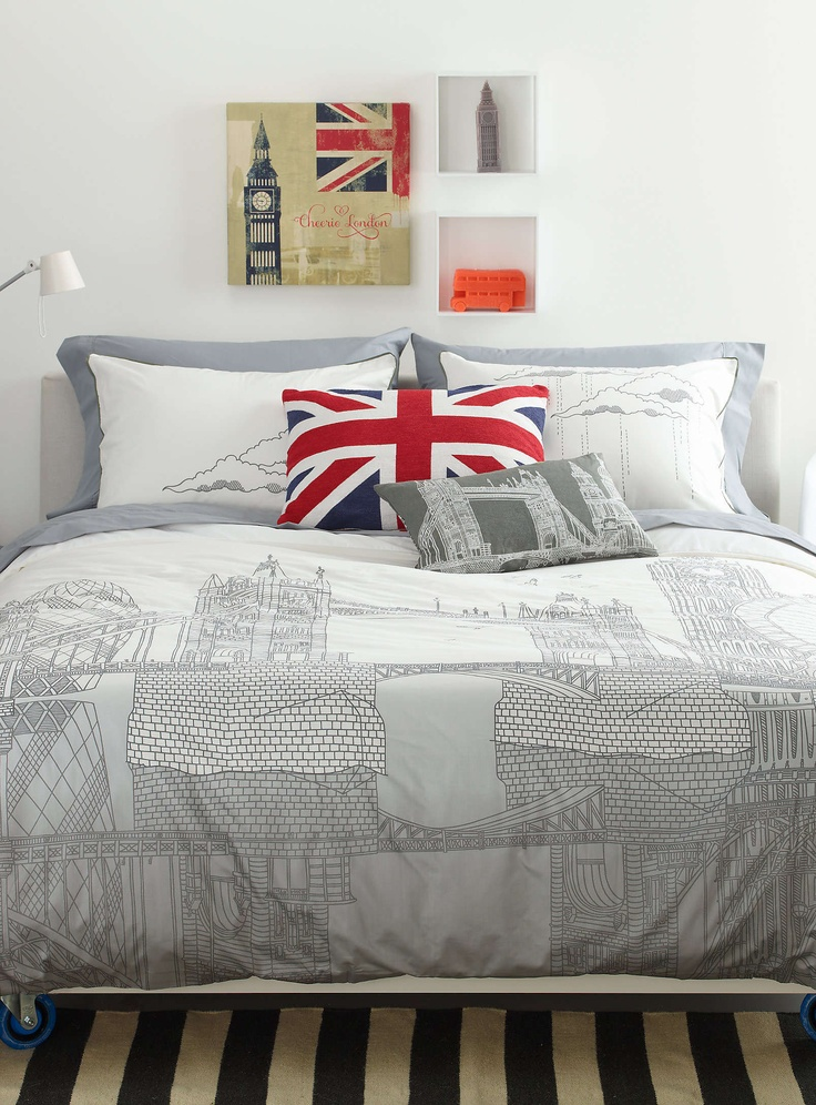 london trip duvet cover set duvet covers comforters simons chambre londre pinterest. Black Bedroom Furniture Sets. Home Design Ideas