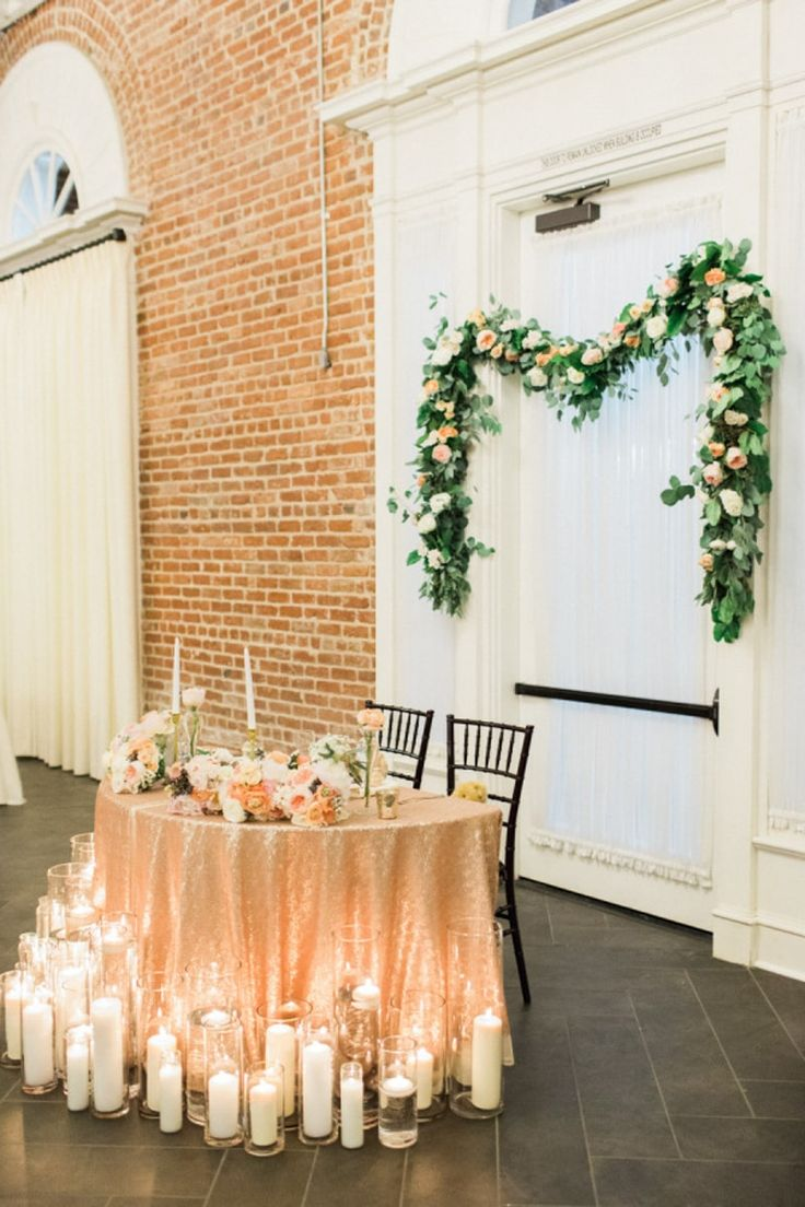sweetheart table ideas at wedding receptions a sweetheart table is a way for brides and grooms to enjoy their reception with a special spot just for them