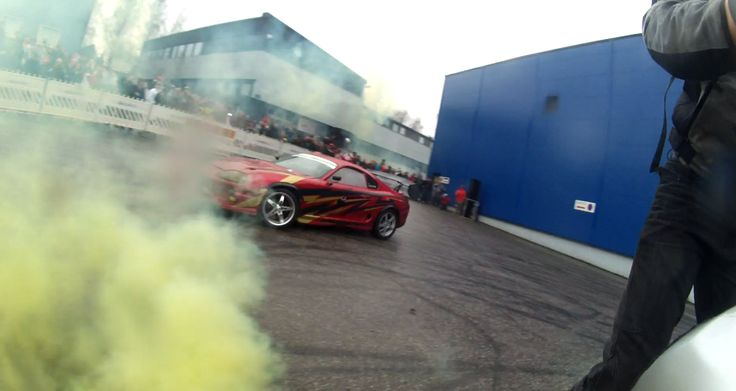 My liquid image video shot at Autosaloon show! I doing circlewheelie and Ami Aalto drifting with his Supra around me!