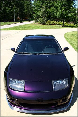 1996 Nissan 300zx Midnight Purple Metallic Slicktop rarest Z32 chassis ever…
