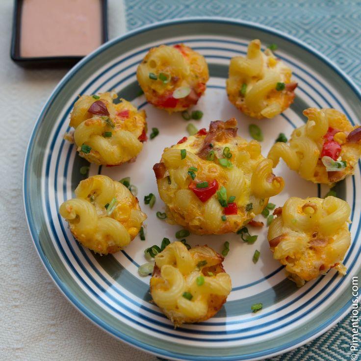 Makaroni Keju Panggang (Mac and Cheese Bites)