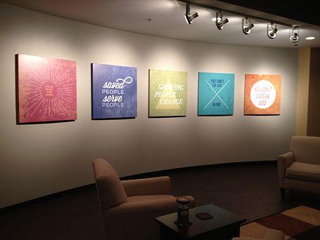 newspring photos on canvas commercial interior design photo canvas wallpaper murals - Church Interior Design Ideas