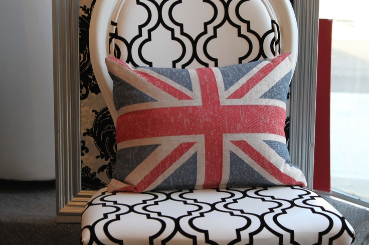 Eurofab Union Jack Pillow Exclusively from Eurofab Eurofab.ca $49.95