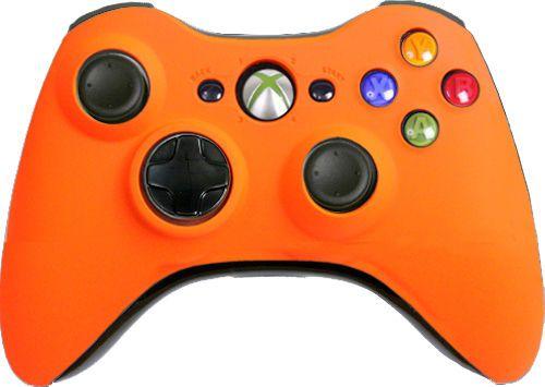 Matte-Orange-Custom-Xbox-360-Controller-Brand-New-Controller
