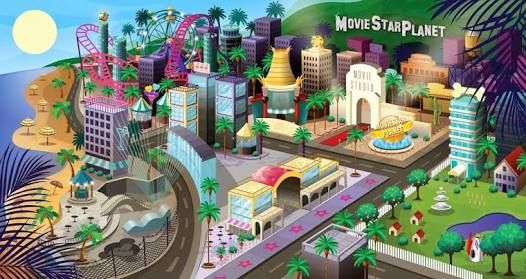 Moviestarplanet background
