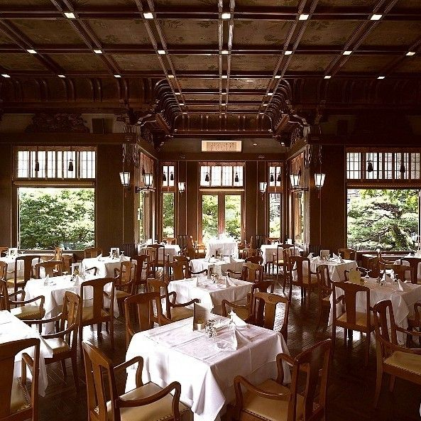 Fujiya hotel dining - Hakone 宮ノ下温泉 富士屋ホテル