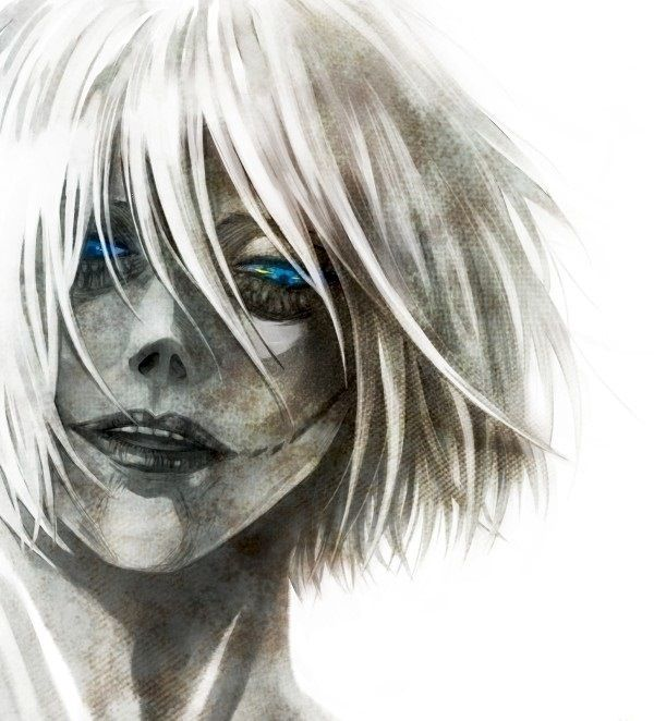 Annie Leonhart... Amazing. It shows the emotionlessness of her personality and the light of defiance in her eyes.