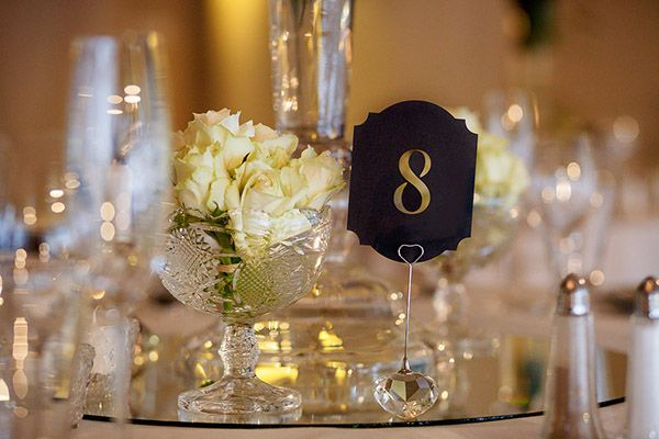 Laser-cut table numbers. (photography: janib.co.za)