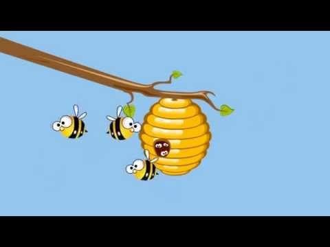 Zoem Zoem Zegt De Honing Bij - Kinderliedjes - YouTube
