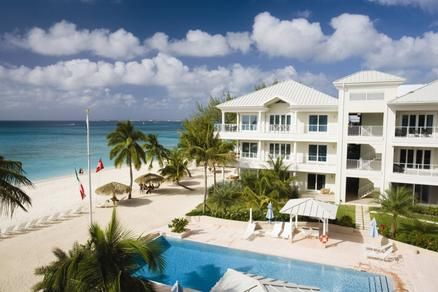 A tropical day at Caribbean Club, a luxury resort in the Caribbean.
