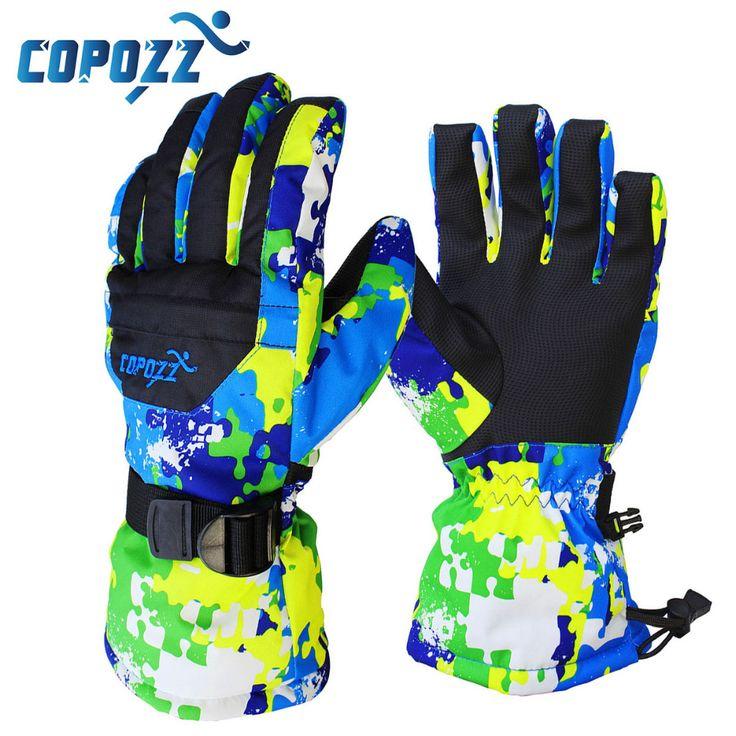 COPOZZ Men Women Girls Boys Children ski gloves Snowboard Gloves Motorcycle Winter Skiing  Riding Waterproof Snow Gloves #shoes, #jewelry, #women, #men, #hats, #watches