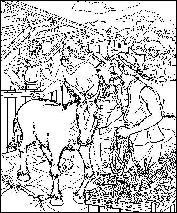 Jesus Needs A Donkey
