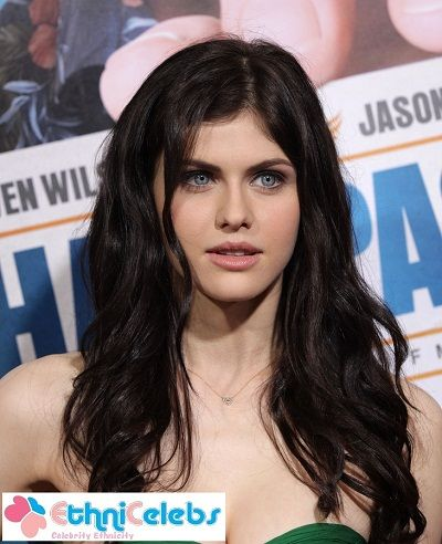 Alexandra Anna Daddario is an American actress. Ethnicity: 37.5% Italian, 25% Czech or Hungarian, 25% English, and 12.5% Irish.